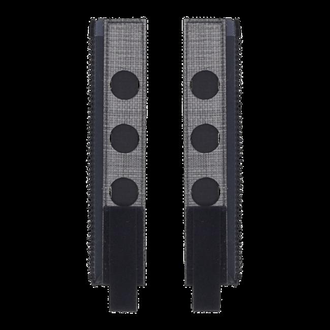 Ferro Concepts Back Panel MOLLE Zipper Kit Black