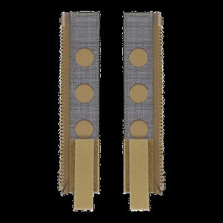 Ferro Concepts Back Panel MOLLE Zipper Kit Coyote