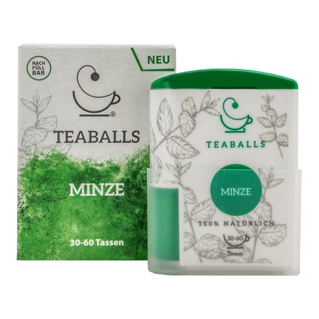 Teaballs Teaballs - Munt thee Dispenser 120 tabletten
