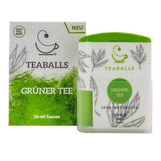 Teaballs Teaballs - Green tea Dispenser 120 Tabs