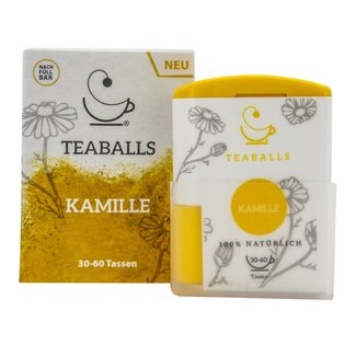 Teaballs Teaballs -Kamille thee Dispenser 120 tabletten