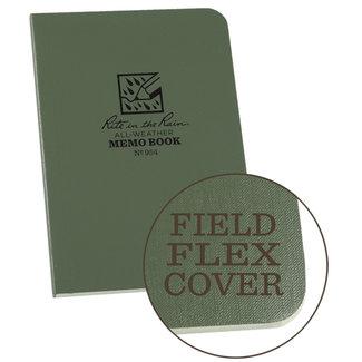 """Rite in the Rain Universal Memo Book, Green, 3.5"""" x 5"""" 954"""