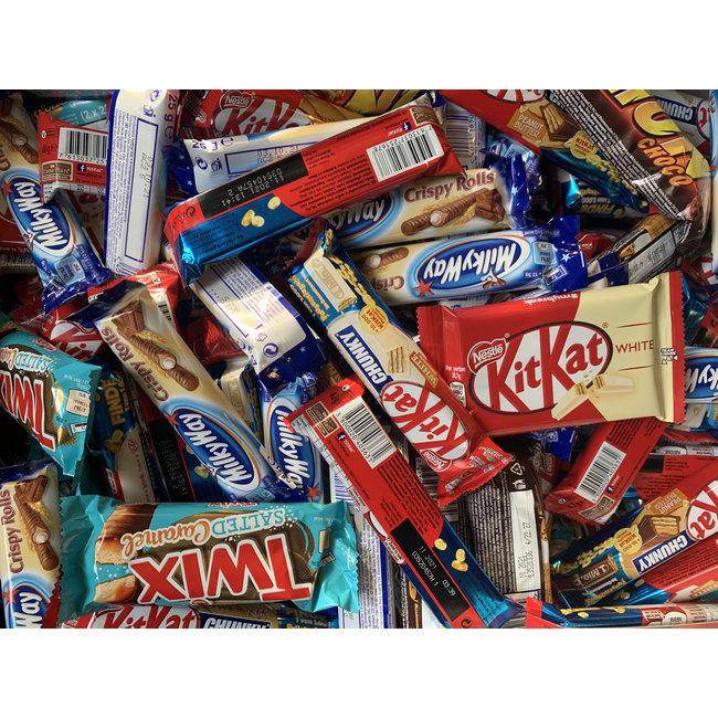 Applied Store Selectie van 5 Candybars (willekeurig gekozen)