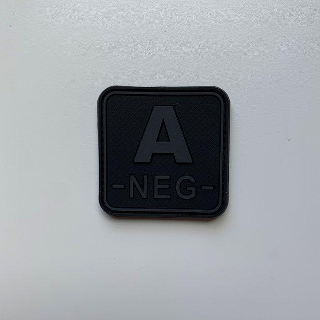 Applied Store A- 5x5cm Black PVC