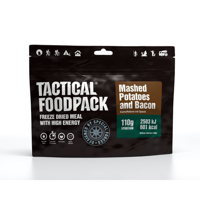 Tactical FoodPack Mashed Potatoes and Bacon (110g)