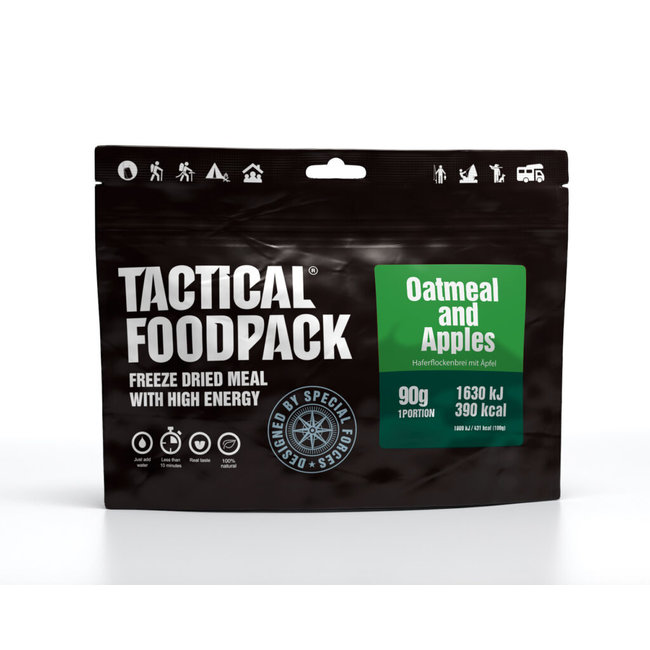 Tactical FoodPack Oatmeal & Apples (90g)