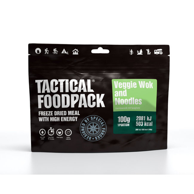 Tactical FoodPack Veggie Wok and Noodles (100g)