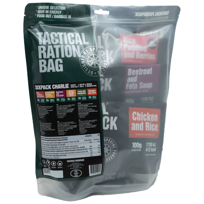 Tactical FoodPack Tactical Sixpack Charlie (530g)
