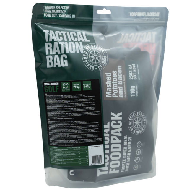 Tactical FoodPack 3 Meal Ration Golf (724g)