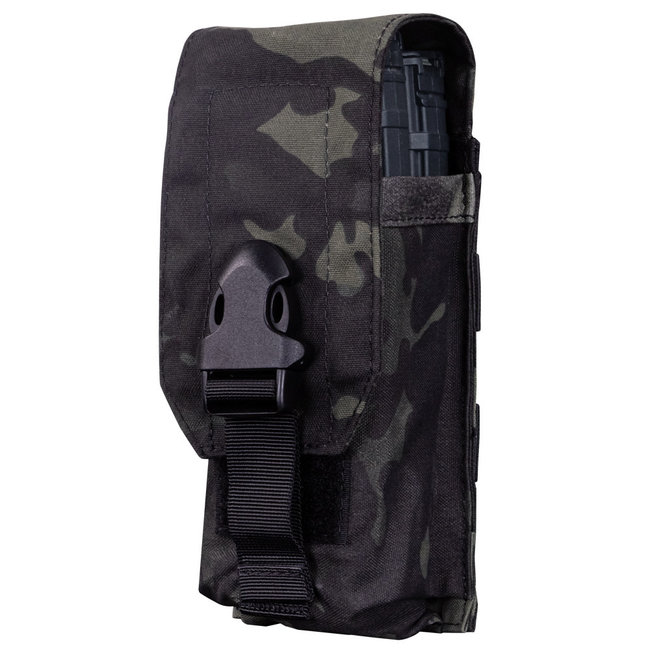 Condor Outdoor UNIVERSAL RIFLE MAG POUCH WITH MULTICAM BLACK