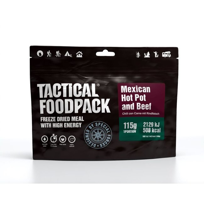 Tactical FoodPack Mexican Hot Pot and Beef (115g)
