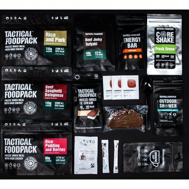 Tactical FoodPack 3 Meal Ration Hotel(741g)
