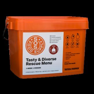 Tactical FoodPack SOS Food Supply Bucket - Meat