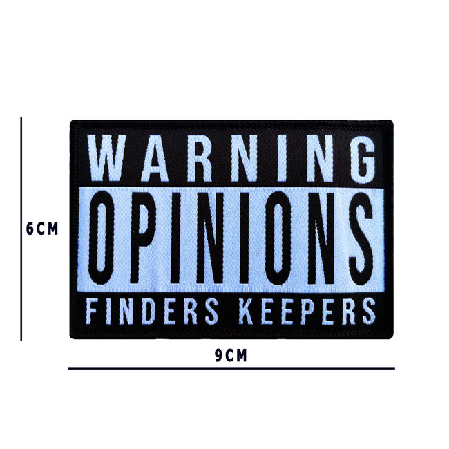 Applied Store OPINIONS FINDERS KEEPERS Patch Woven