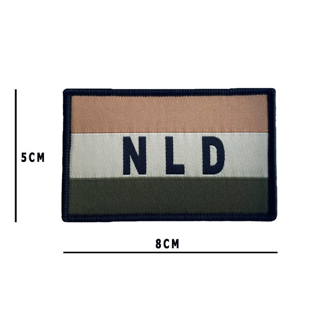 Applied Store NLD Vlag Woven NFP Multitone