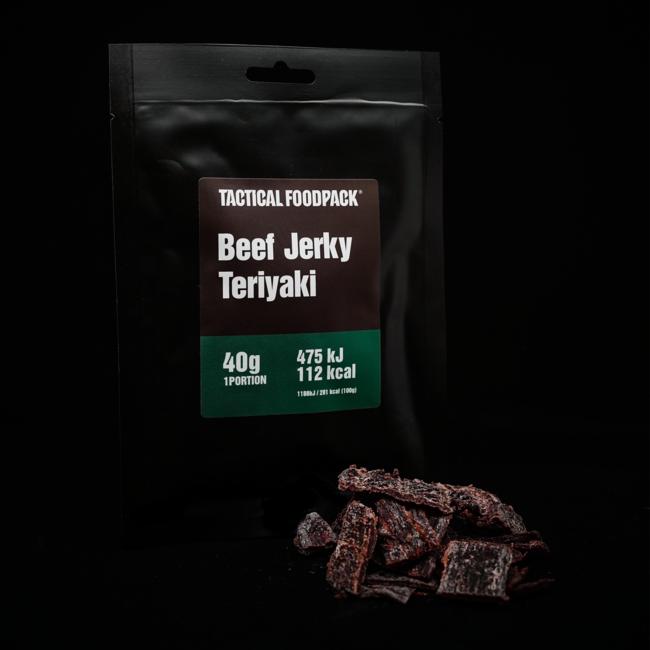 Tactical FoodPack Beef Jerky Teriyaki - 40g