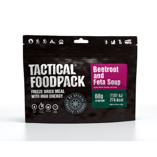 Tactical FoodPack Beetroot and Feta Soup (60g)