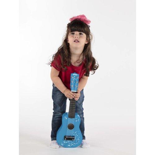 Tidlo Blauwe kindergitaar