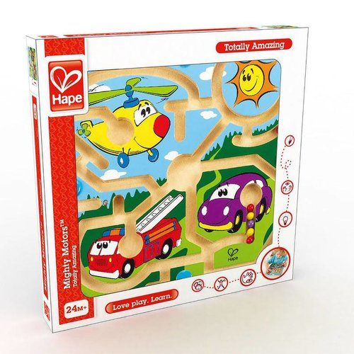 Hape Mighty Motors Magneetspel