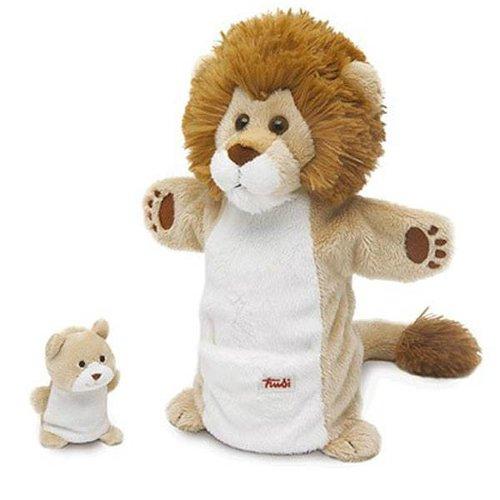 Trudi Handpop Leeuw met Baby