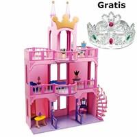 Houten poppenhuis Sprookjeskasteel