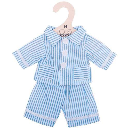 Bigjigs Pyjama Blauw 30 cm