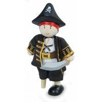 Piraat Kapitein met Houten Been Budkin