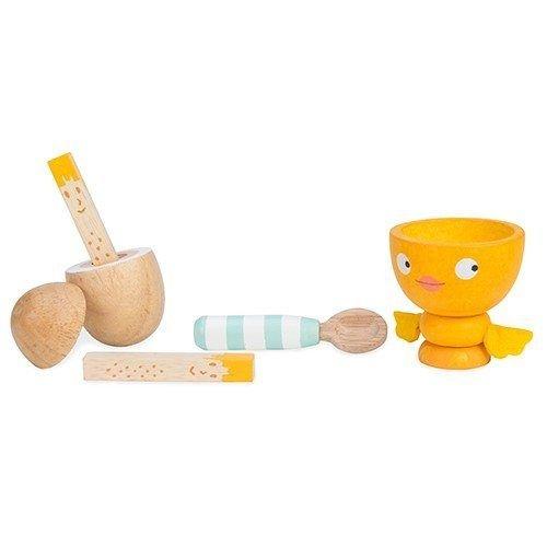 Le Toy Van Gekookt Eitje Chicky Chick