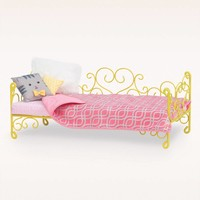 Scrollwork Bed