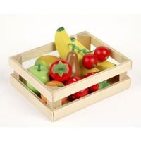 Houten Fruit Salade