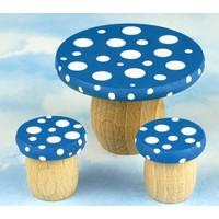 Droomtafeltje met Krukjes Bosbessenblauw