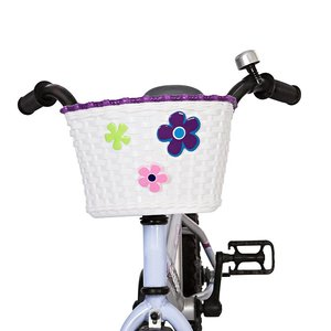 Mini Mommy Fietsmandje Wit