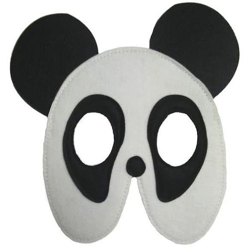 MaMaMeMo Vilten Masker Panda