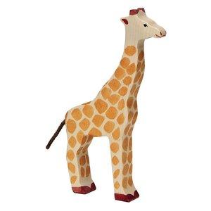 Holztiger Giraf 25 cm