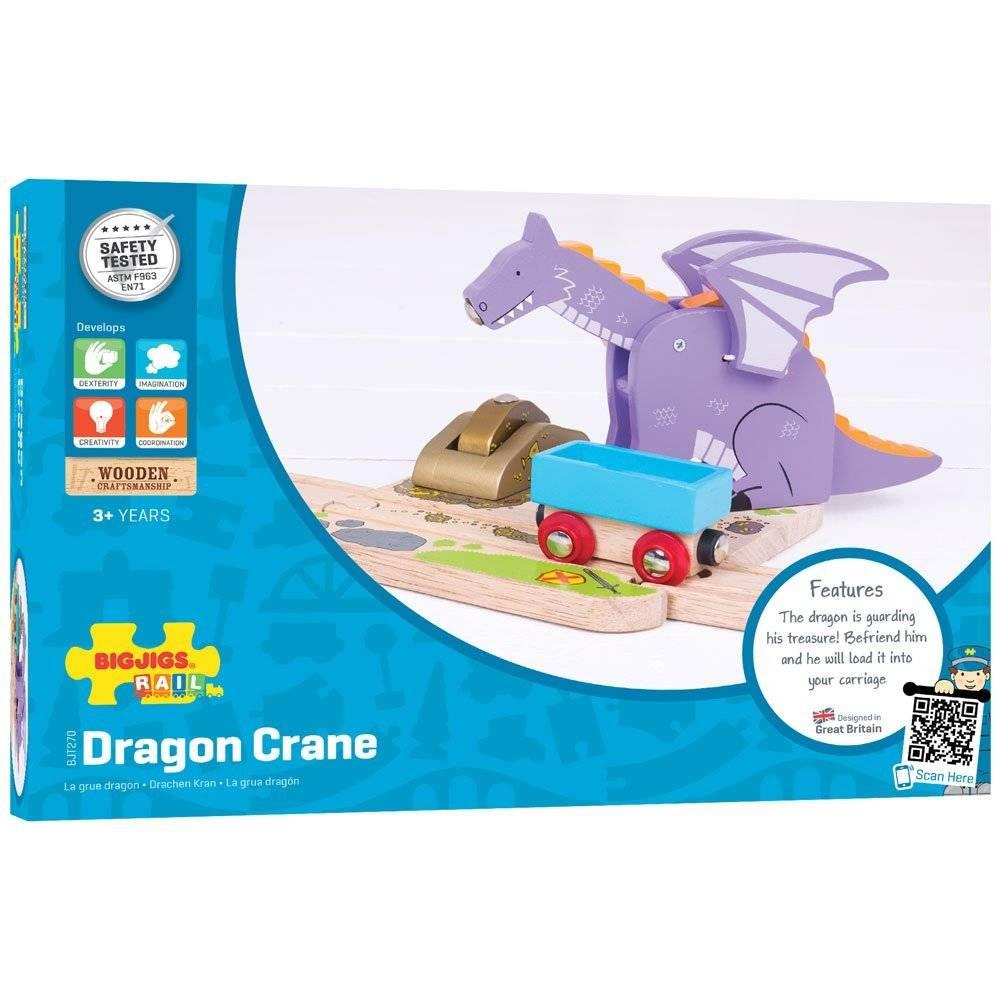 Bigjigs Draken Kraan