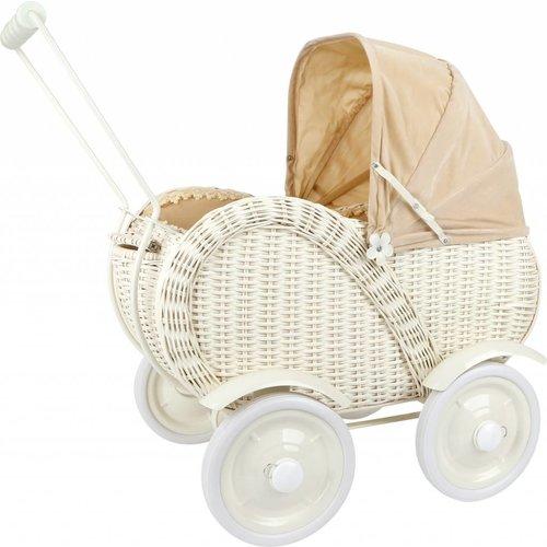 Legler Rieten poppenwagen Caroline