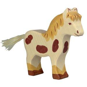 Holztiger Pony 12 cm