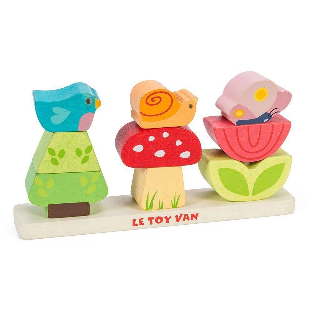 Le Toy Van Petilou Stapeltoren Tuin