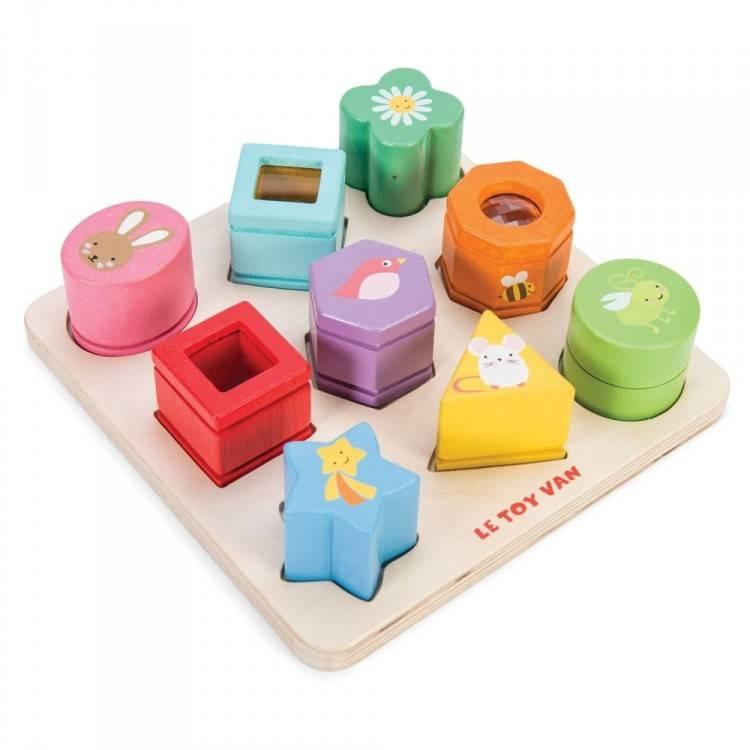 Le Toy Van Petilou Sensory Shapes