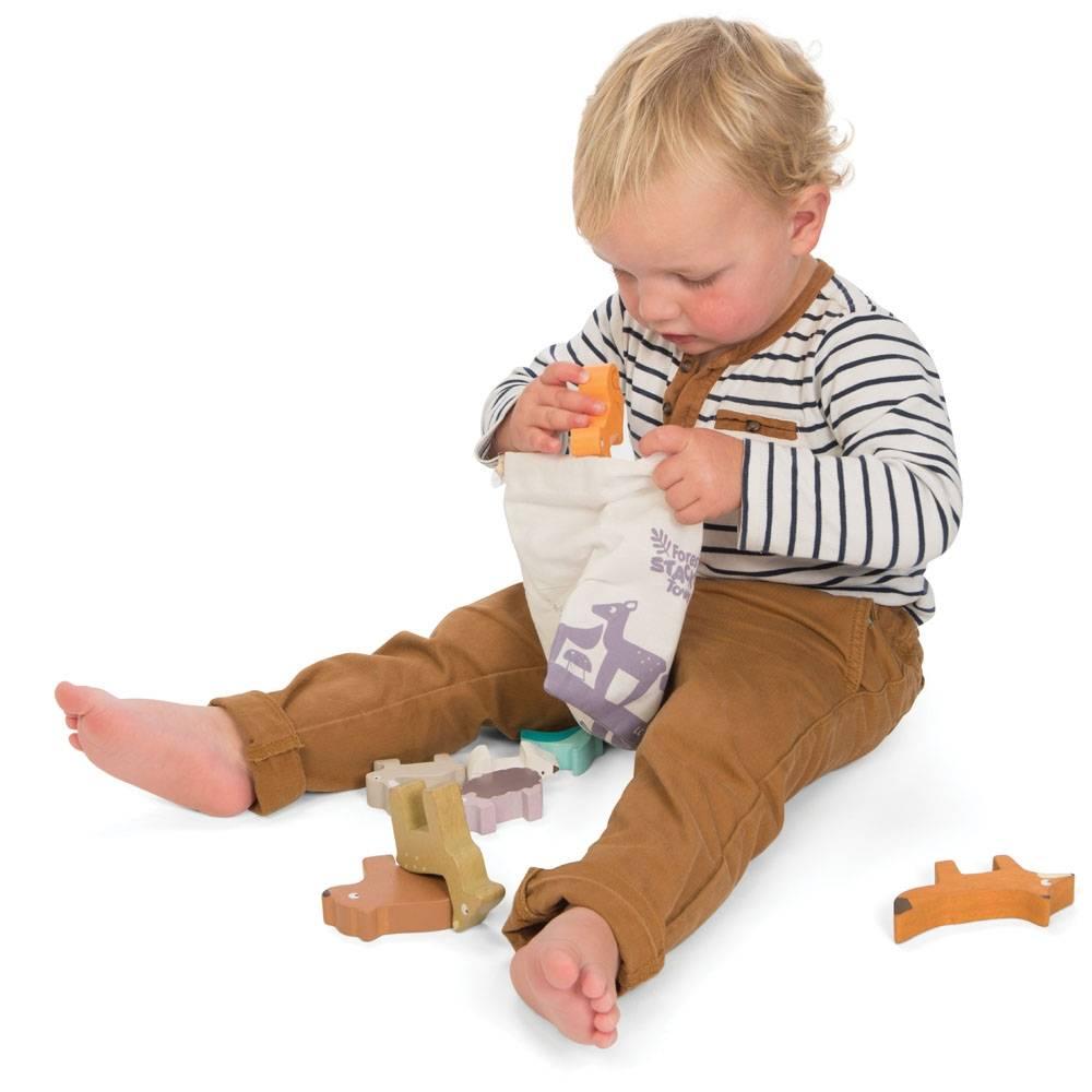 Le Toy Van Petilou Stapeltoren Dieren