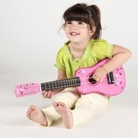 Roze kindergitaar