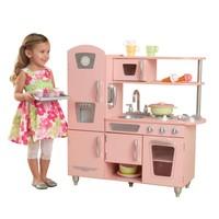 Roze vintage kinderkeuken