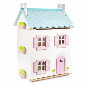 Le Toy Van Poppenhuis Blue Bird Cottage