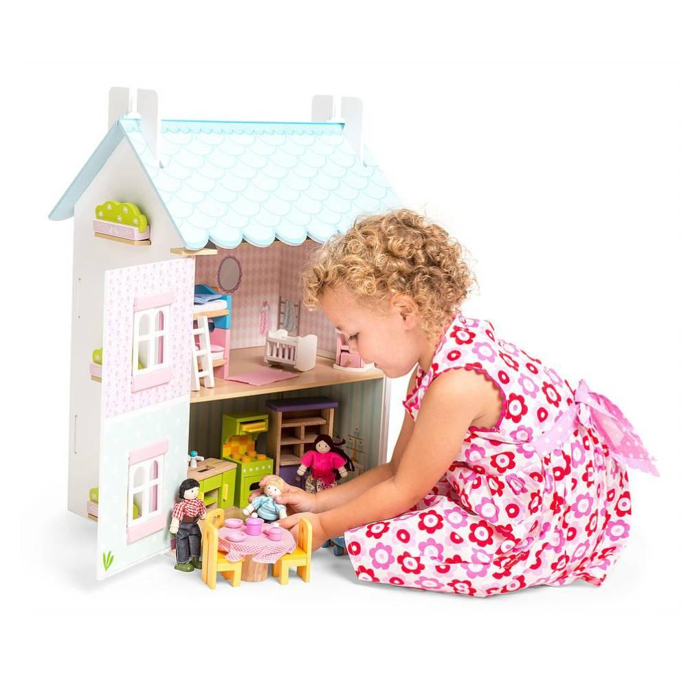 Le Toy Van Poppenhuis Blue Bird Cottage