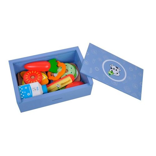 MaMaMeMo Lunch Box Blauw