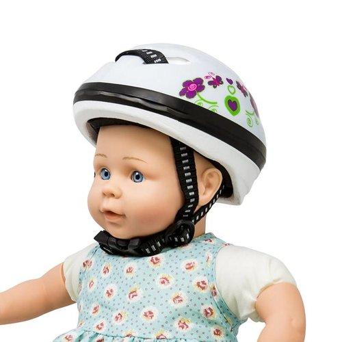 Mini Mommy Fietshelm voor Pop Blauw