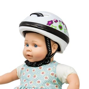Mini Mommy Fietshelm voor Pop Wit