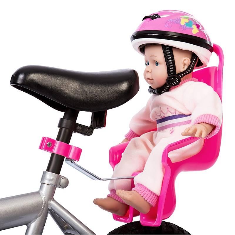 Mini Mommy Fietshelm voor Pop Roze