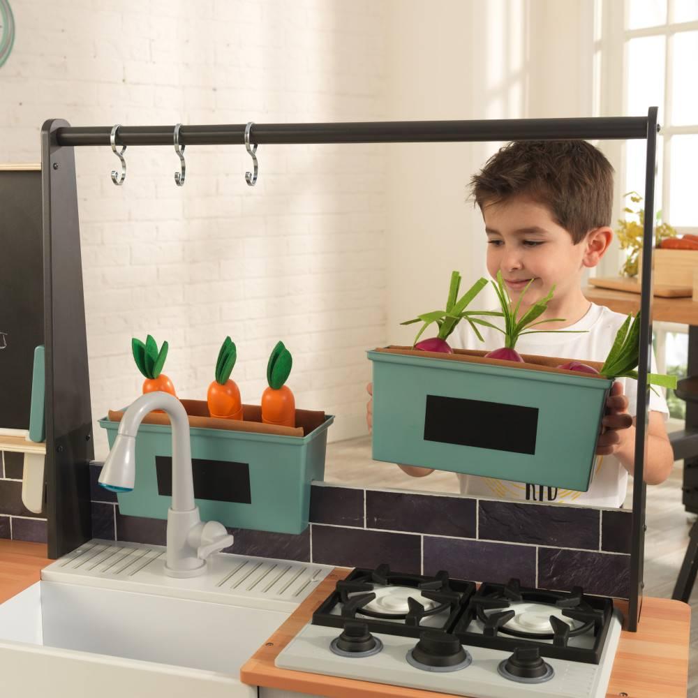 Kidkraft Farm to Table Speelkeuken met gemakkelijke EZ Kraft Assembly™