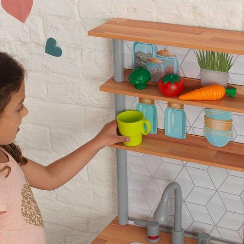 Kidkraft Gourmet Chef Speelkeuken met gemakkelijke EZ Kraft Assembly™
